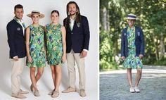 Olimpíadas Rio 2016 - Uniformes dos Atltetas | Debora Montes Blog