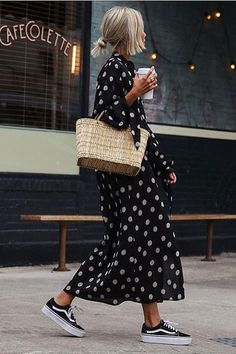41 Neat Outfit Ideas For Your Spring Street Style Look - Fashion Outfits Street Style Outfits, Looks Street Style, Spring Street Style, Mode Outfits, Looks Style, Spring Summer Fashion, Spring Outfits, Spring Style, Outfit Summer