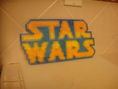 Star Wars Logo (Perler Bead) by ~KymiCupcake on deviantART