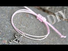 DIY | Armband mit Schiebeknoten Makramee Verschluss | Canis Minor Art - YouTube