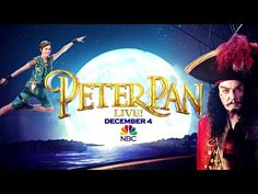 Get ready for #PeterPanLive starring Christopher Walken and Allison Williams December 4 on NBC!