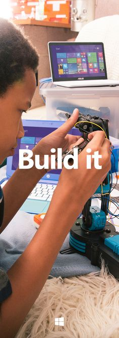 The best way to make something one of a kind is to make it yourself, find out how Windows can help you build great things. https://www.youtube.com/watch?v=53tbRr8rpYE