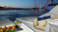 Whether to celebrate any occasion or entertaining business associates or traveling to the London to exploring fascinating sightseeing, chartering one our #river #cruise #london  is the ultimate way to impress or enjoy.  For booking contact London Yacht Hire now!