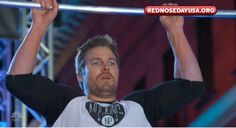Arrow star Stephen Amell became a real-life superhero in a celebrity edition of American Ninja Warrior featuring the iconic salmon ladder. http://l7world.com/2017/05/stephen-amell-arrow-salmon-ladder-ninja-warrior.html