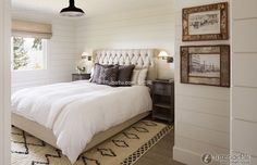 Vintage European-style home bedroom decoration effect 2015
