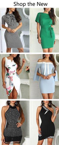 Shop Sexy Trending Dresses – Chic Me offers the best women's fashion Dresses deals Women's Fashion Dresses, Sexy Dresses, Cute Dresses, Beautiful Dresses, Dress Outfits, Short Dresses, Girly Outfits, Trendy Outfits, Frack