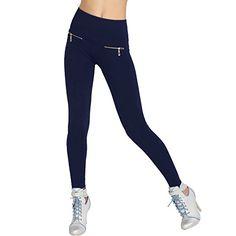 Mode Damen Stretch Hose Jeans-Look Röhre Slim Skinny Leggings Treggings Jeggings