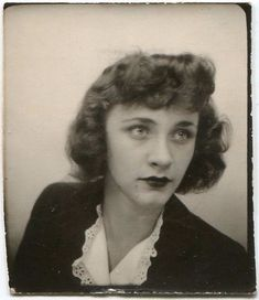 vintage everyday: Short Curly Hair – The Popular Fashion Hairstyle of Girls in the 1930s