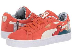 san francisco 5a3dc 44bb1 Puma Kids Sesame STR 50 Suede (Big Kid). Suede Sneakers, Big Kids, Athletic  Shoes, Baby ...