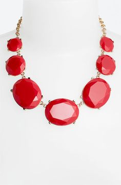 Colorful bib necklace by Tasha $48 #nordstrom