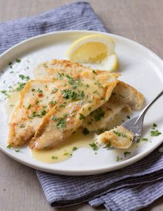 5 tips for delicious fish, plus a recipe for Fillet of Sole with Lemon-Wine Pan Sauce / JillHough.com
