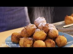 Apple-Studded Fritters - From the Test Kitchen - YouTube
