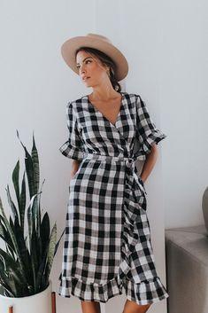 Check That Ruffle Dress | modest dresses