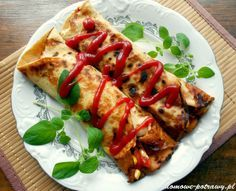 Cooking Recipes, Healthy Recipes, Polish Recipes, Dietitian, Caprese Salad, Vegetable Pizza, Food Inspiration, Main Dishes, Healthy Lifestyle