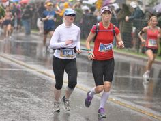 Ben Kaplan's profile of Leona Emberson, a vision-impaired runner who'd say her biggest challenge at this year's Ottawa Marathon will be finding those eight seconds she lost last year.