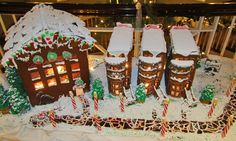 Winning Gingerbread Contest Categories | First Annual Gingerbread House Decorating Contest at Woodmark Hotel