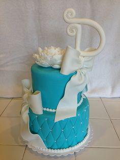 'Tiffany's' Birthday Cake
