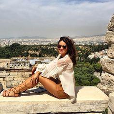 Simply thankful!  #greece ------ Simplesmente grata! #abelezanasceunagrecia #chegoukorres