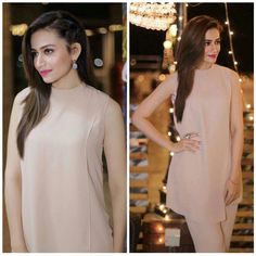 Beautiful Sana Javed Styled by in and Jewelry by For Film Promotions in Islamabad! Pakistani Party Wear Dresses, Pakistani Wedding Outfits, Best Wedding Dresses, Bollywood Celebrities, Bollywood Fashion, Eastern Dresses, Designs For Dresses, Pakistani Actress, Indian Designer Wear