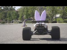 "The Real Easter Bunny - Traxxas E-Revo 'Happy Easter"" Edition RC Car Destroys The Fake Easter Bunny - YouTube"