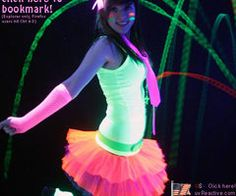 the dark rave outfit more rave outfit clothes glow neon outfits neon