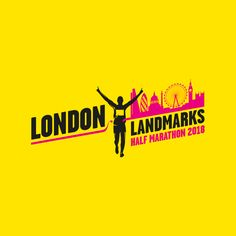 Check out the 2018 London Landmarks Half Marathon! A new, central London, closed road run. Pre-register is now open! Marathon Logo, Running Half Marathons, London Brands, London Landmarks, Sport Design, Keep Running, Hijab Fashion, Florence, Derby