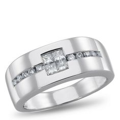 Cool Engagement Rings Trends LUX3, Diamond Ring for him, 5/8 ctw. - by Samuels Jewelers Check more at http://24store.ml/fashion/engagement-rings-trends-lux3-diamond-ring-for-him-58-ctw-by-samuels-jewelers/