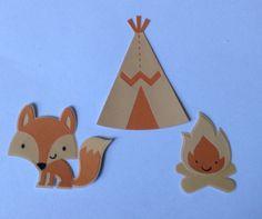 Create a critter Fox, Fire and Tee-pee :))