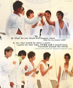 tvxq,dbsk,thsk Good Old Times, 25 Years Old, Jaejoong, Jyj, Tvxq, Great Bands, Travel Around The World, Kpop, Shit Happens