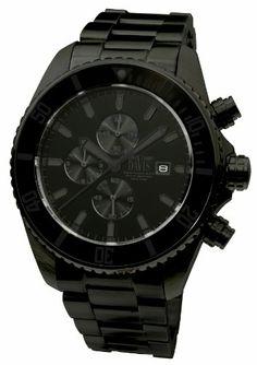 Davis - Montre Homme Sport Plongee Luxe Noire Chronographe Etanche 200M Bracelet Acier Noir Davis http://www.amazon.fr/dp/B004AFFYWK/ref=cm_sw_r_pi_dp_ihnJtb1E3NQKF6Z6