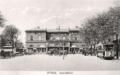 Cottbus, alter Bahnhof