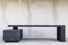 Chandigarh Desk, 2015 black elm burr | Joseph Dirand