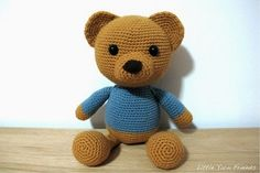 Free Teddy-Bear Pattern: Lil� Classic Teddy
