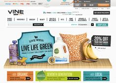 Amazon has launched a new site aimed toward all things eco-friendly. Vine.com - thousands of green products, from organic cleaners to sustainable decor.