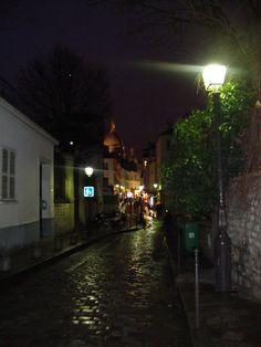 Llegando al corazón de Montmartre