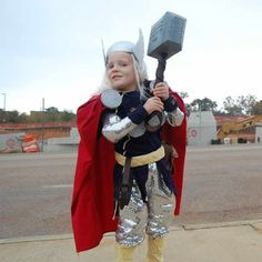 Thor Halloween Costume For Toddlers