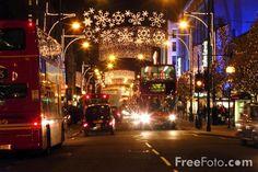 #lulusholiday Picture of Christmas Lights, Regent Street, London, England :)