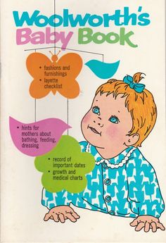Woolworth's Baby Book 1971 Tips and Record Book Vintage Paperback