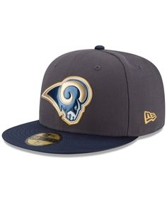 New Era St. Louis Rams Gold Collection On-Field 59FIFTY Cap Fitted Caps 1ecf6c721334