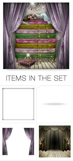 """""""The Princess and the Pea"""" by debraelizabeth ❤ liked on Polyvore featuring art"""