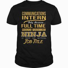 COMMUNICATIONS INTERN - NINJA GOLD