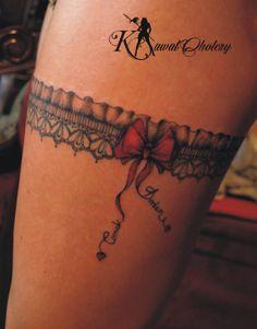 #tattoo# #tattogarter# #garter# #podwiązka#