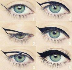 Eye Make-up Award profitable Mascara Eyeliner Forehead Gel Alexa Chung Making Eyes for Eyeko Makeup Goals, Makeup Inspo, Makeup Inspiration, Makeup Tips, Makeup Tutorials, Full Makeup, Makeup Ideas, Style Inspiration, Makeup Hacks