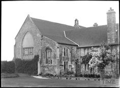 wincanton somerset england history | Stavordale Priory, near Wincanton, Somerset c.1935 | Bath in Time