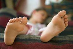 Mal olor de pies en niños