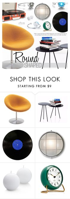"""""""Round Shaped Decor"""" by totwoo ❤ liked on Polyvore featuring interior, interiors, interior design, home, home decor, interior decorating, Artifort, Garden Trading, Crate and Barrel and Carl Mertens"""