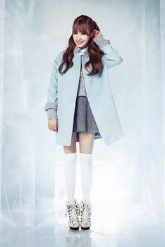 Girls' Generation-TTS Tiffany is adorable in her MIXXO Winter Outfit 2014