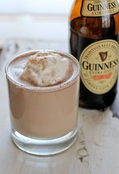 Jamaican Guinness Punch 12 oz Guinness 1 cup whole milk ½ cup condensed milk tsp ground cinnamon tsp nutmeg ¼ tsp pure vanilla extract Jamaican Drinks, Jamaican Cuisine, Jamaican Dishes, Jamaican Recipes, Jamaican Appetizers, Jamaican Desserts, Jamaican Party, Caribbean Drinks, Carribean Food