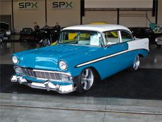 1956 Chevrolet..Re-pin Brought to you by agents of car insurance at #HouseofInsurance in #EugeneOregon for #CarInsurance