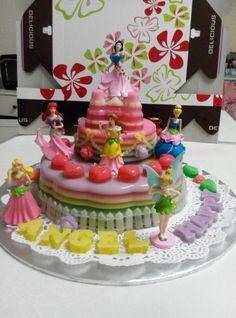 Princess Jelly Cake